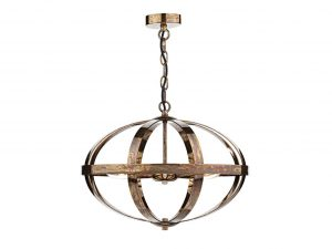 Ciana Petrol Copper 3 Light Pendant
