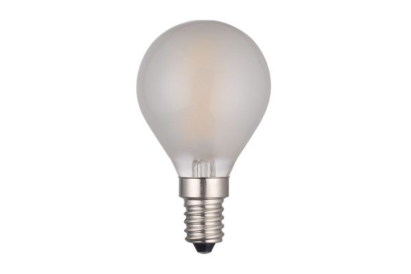 E14 Warm White 400LM Pearl Golfball