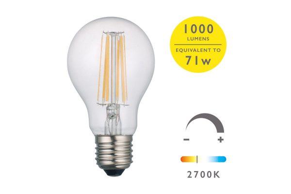 E27 Warm White 1000LM GLS - Details