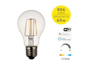 E27 Warm White 806LM GLS Smart Bulb - Details