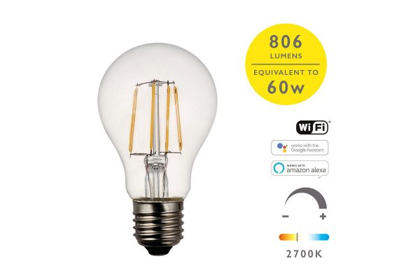 E27 Warm White 806LM GLS Smart Bulb - Details