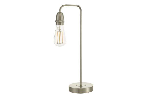Faro Satin Chrome Table Lamp