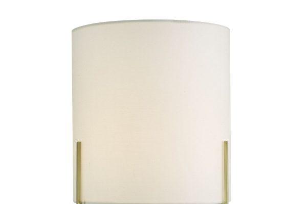 Fynn Satin Gold Table Lamp Shade Detail