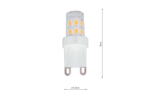 G9 190LM Warm White Compact - Dimensions