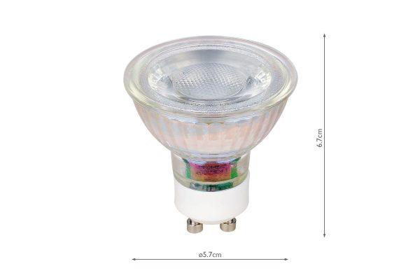 GU10 345LM 3000k Reflector - Dimensions