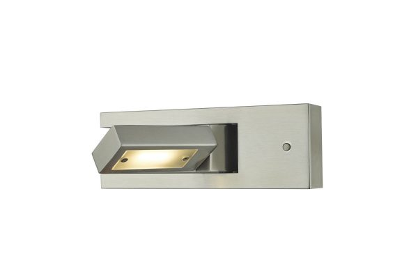 Luca Satin Chrome LED Wall Light