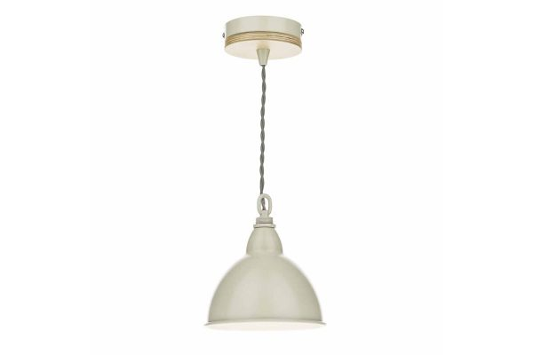 Oran 1 Light Pendant with Painted Shade