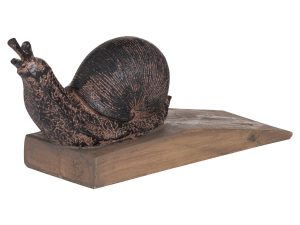 Sopha Snail Doorstop Side