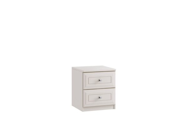 Sopha St Ives 2 Drawer Narrow Bedside Bedroom Chest