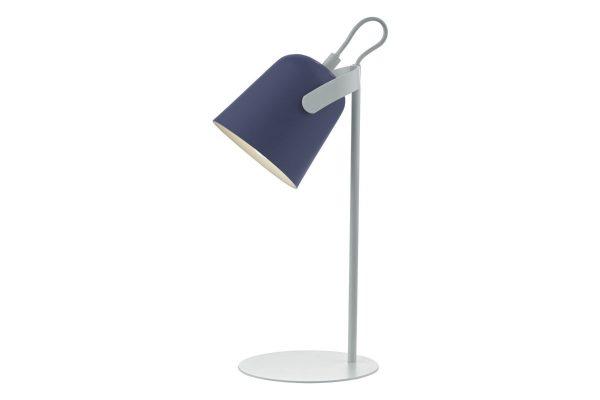 Uri Blue & White Task Lamp