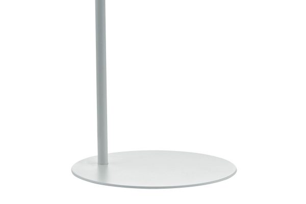 Uri Blue & White Task Lamp Base Detail
