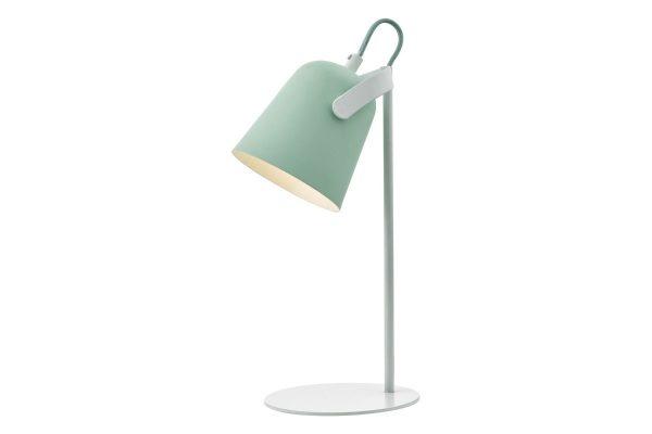 Uri Pale Green & White Task Lamp