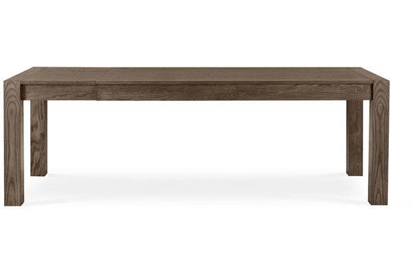 Sopha Avocado dark oak large end extension table extended