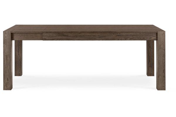 Sopha Avocado dark oak medium end extension dining table extended
