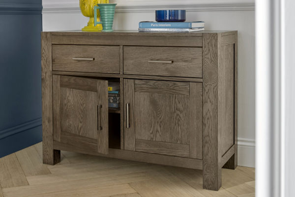 Sopha Avocado dark oak narrow sideboard display