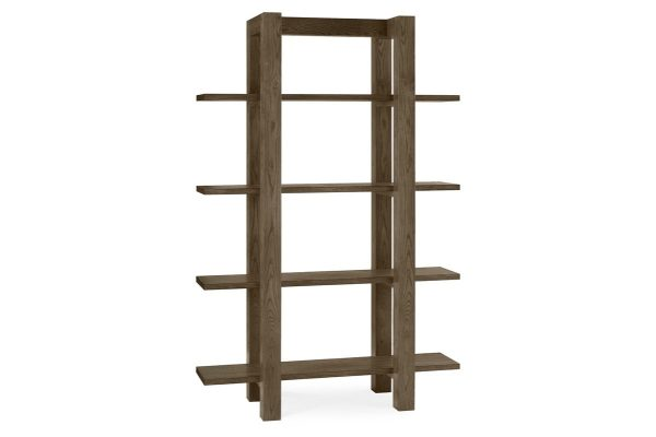 Sopha Avocado dark oak open shelf unit