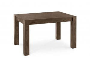 Sopha Avocado dark oak small end extension dining table