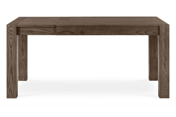 Sopha Avocado dark oak small end extension dining table extended