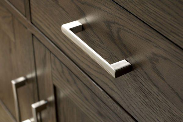 Sopha Avocado dark oak wide sideboard metal handles
