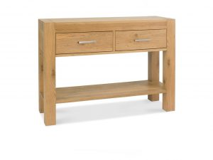 Sopha Avocado light oak console table