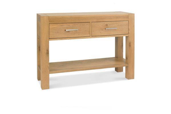 Sopha Avocado light oak console table