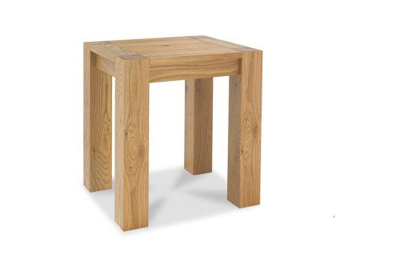 Sopha Avocado light oak lamp table