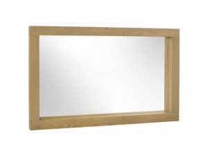 Sopha Avocado light oak large mirror