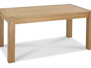 Sopha Avocado light oak medium end extension dining table