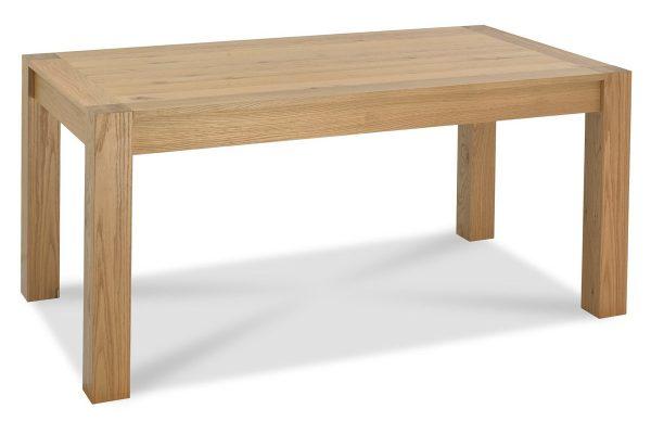 Sopha Avocado light oak medium end extension dining table