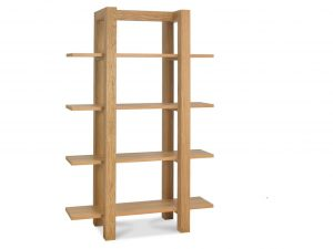Sopha Avocado light oak open shelf unit
