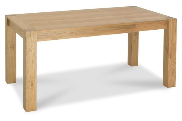 Sopha Avocado light oak small end extension dining table extended