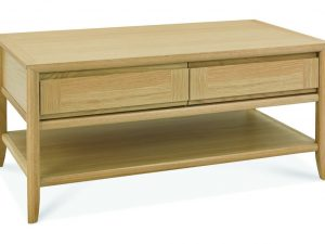 Sopha nutmeg oak coffee table