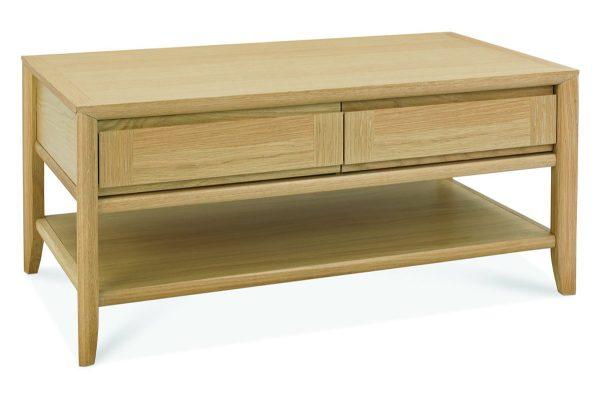 Sopha nutmeg oak coffee table