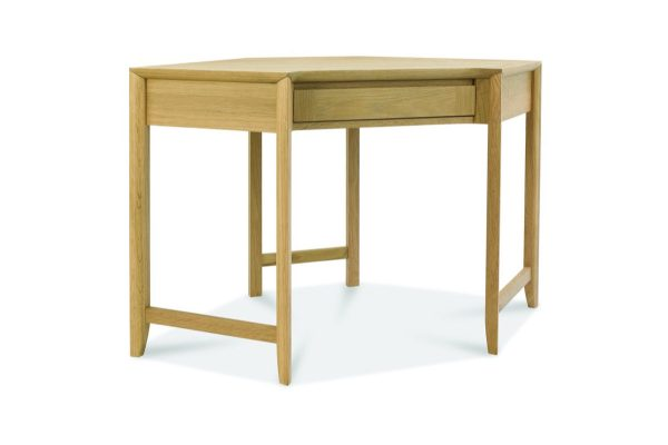 Sopha nutmeg oak corner desk