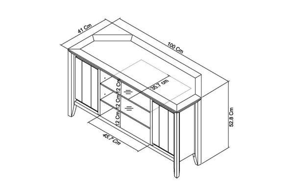 Sopha nutmeg oak corner entertainment unit measurements