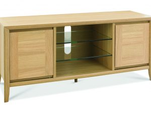 Sopha nutmeg oak entertainment unit