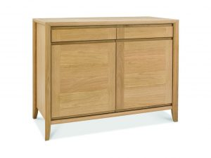 Sopha nutmeg oak narrow sideboard