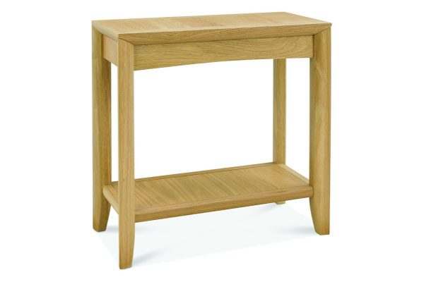 Sopha nutmeg oak side table