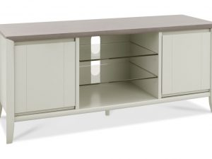 Sopha Nutmeg two tone entertainment unit