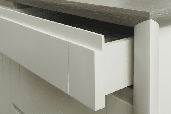 Sopha Nutmeg two tone wide sideboard drawer