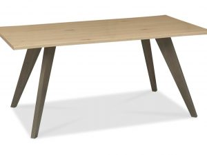 Sopha Pepper aged oak 6 seater dining table