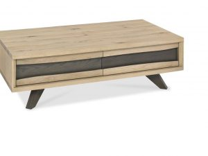 Sopha Pepper aged oak coffee table with drawers