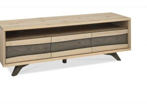 Sopha Pepper aged oak entertainment unit