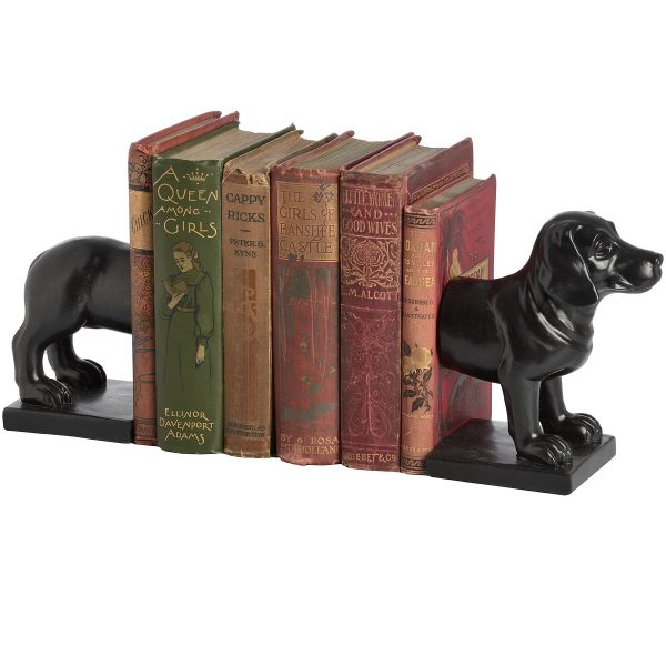 Sopha Dog Bookends W24 D9 H18 Weight 1.16kg