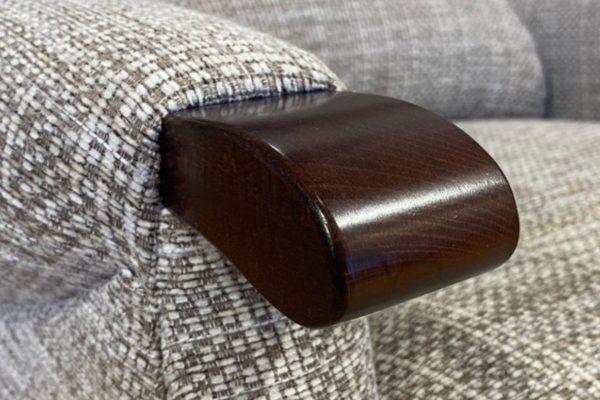 Sopha Sherborne Upholstery Malham Dark Beech Knuckle
