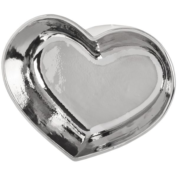Sopha Silver Heart Dish Underneath Bottom