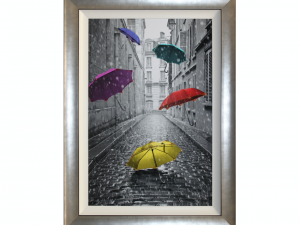 Sopha L'Ombrelle Liquid Art Framed Umbrella Print