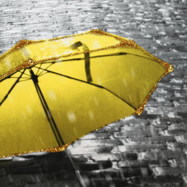 Sopha L'Ombrelle Liquid Art Framed Umbrella Print