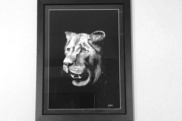 cassie williams framed art Killer Instinct