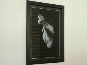 cassie williams framed art grief